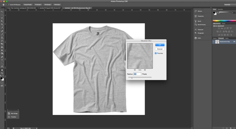 Photoshop Gaussian Blur