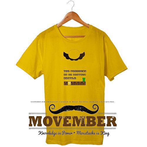 Movember charity t shirt ideas garment printing blog for Charity printed t shirt